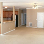 255 Milford Drive - Living Room & Kitchen