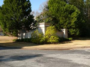Lexington Heights subdivision entrance
